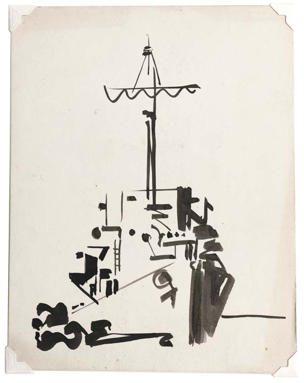drafted ad reinhardt s naval drawings the brooklyn rail