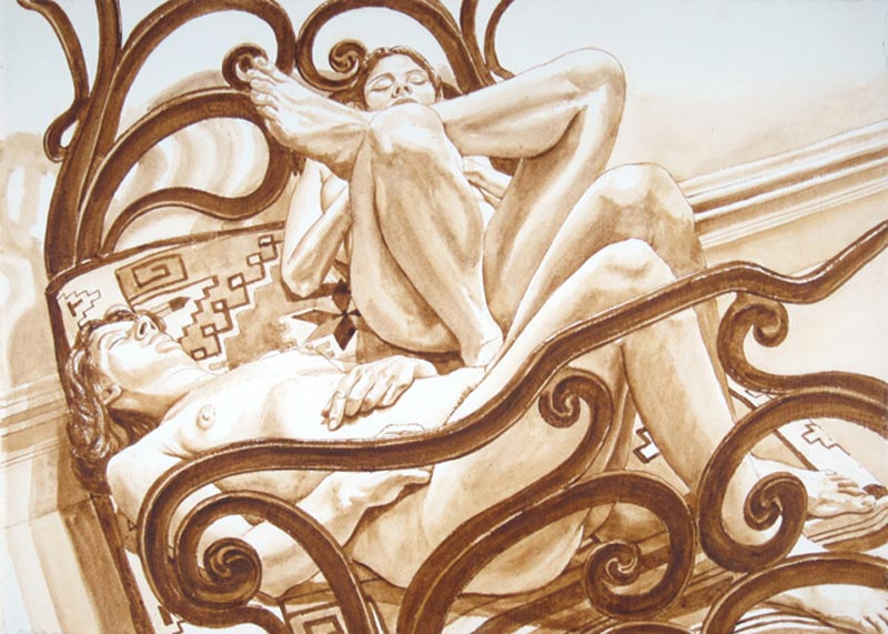PHILIP PEARLSTEIN JUST THE FACTS, 50 Years of Looking and ... Philip Pearlstein Drawing