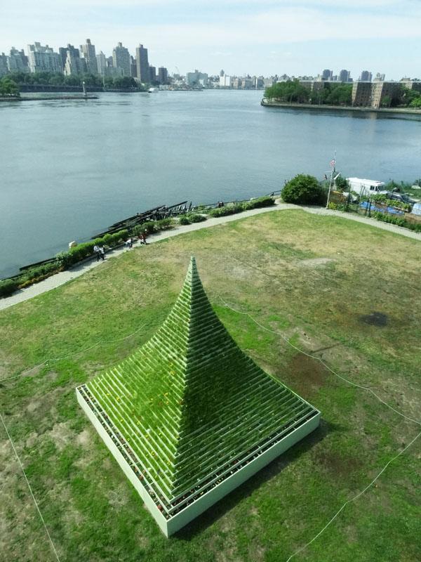 Agnes Denes Living Pyramid The Brooklyn Rail