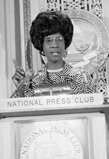 Shirley Chisholm accomplishments