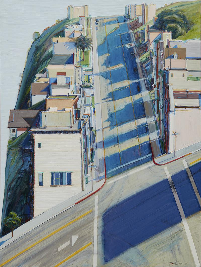 Wayne Thiebaud ... - California Landscapes: Richard Diebenkorn / Wayne Thiebaud The