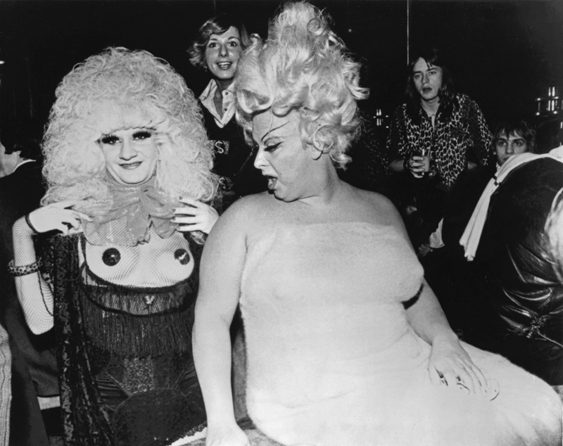 JAYNE COUNTY (formerly Wayne County) American Pop Musician (Launching the  BBC TV Series