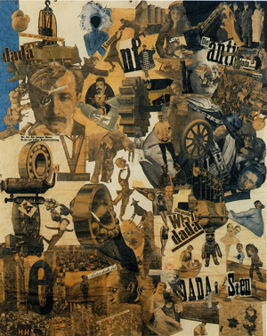 Hannah Hoch collage.