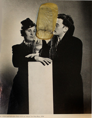 Ray Johnson…Dalí/Warhol/and others…'Main Ray, Ducham, Openheim, Pikabia…' Dali-by-oisteanu-web