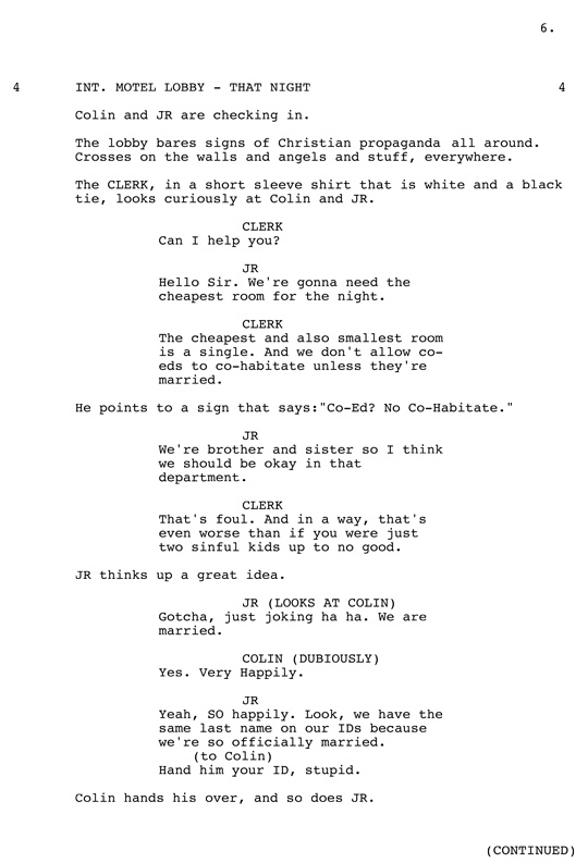 a scene from the color wheel a screenplay the brooklyn rail