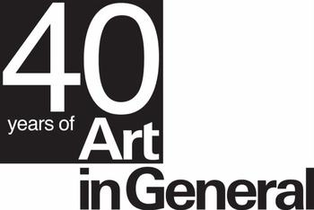40 Years of Art in General