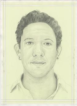 Portrait drawing of Tiago Gualberto by Phong H. Bui