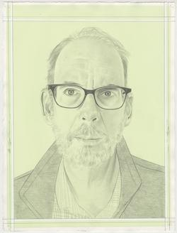 Portrait drawing of Tom McGlynn by Phong Bui