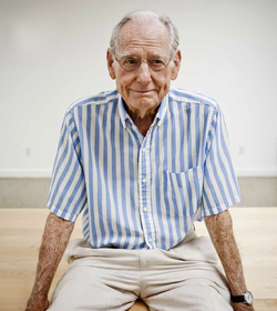 A portrait of Wayne Thiebaud by Max Whittaker